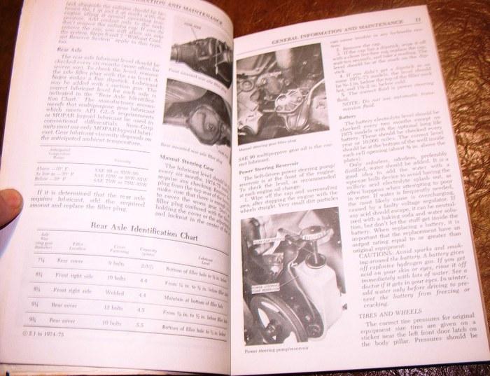 1971 1975 dodge chiltons 6