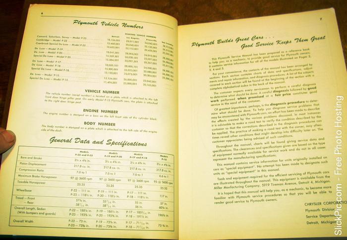 1948 to 1950s MoPaR Service 2