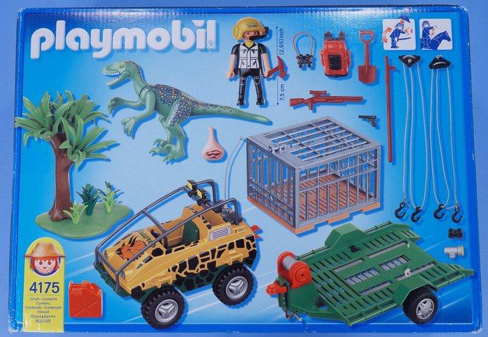 Playmobil dinosaur explorer truck trailer dino - Dinosaur playmobile ...