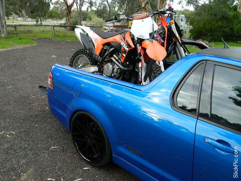 Thread: Holden Ute's and Carrying Bikes???