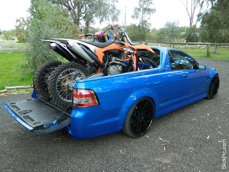 Holden Ute S And Carrying Bikes