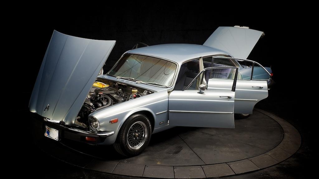 Alan Webb Chevy >> Purchase used 1976 Jaguar XJ12L Chevy Conversion V8 LT1 ...