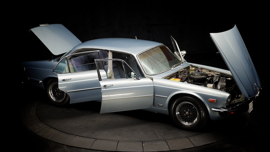 Purchase Used 1976 Jaguar Xj12l Chevy Conversion V8 Lt1