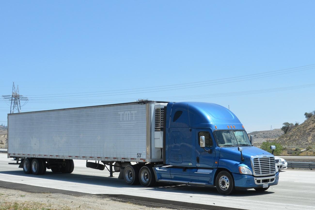 Interstate 5 South Of Tejon Pass Pt 4