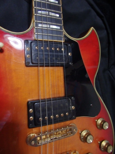vintage yamaha sg 1000 electric guitar cherry sunburst sg1000 2000 ebay. Black Bedroom Furniture Sets. Home Design Ideas