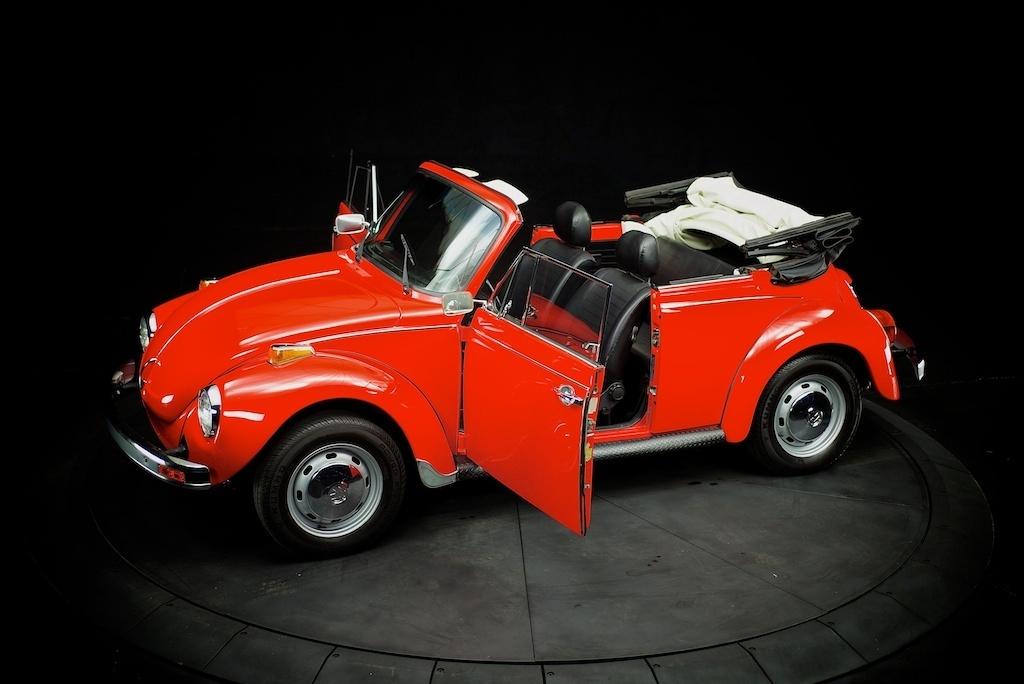 Buy Used 1978 Vw Beetle Convertible Restored New Engine