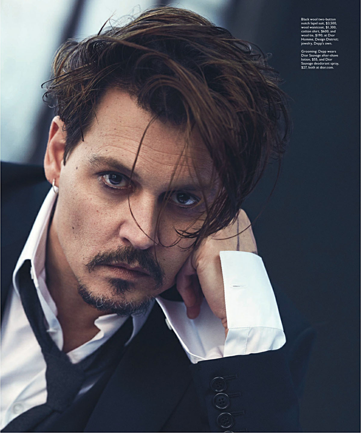 Johnny Depp: Johnny Depp Is The New Face Of Dior Fragrances