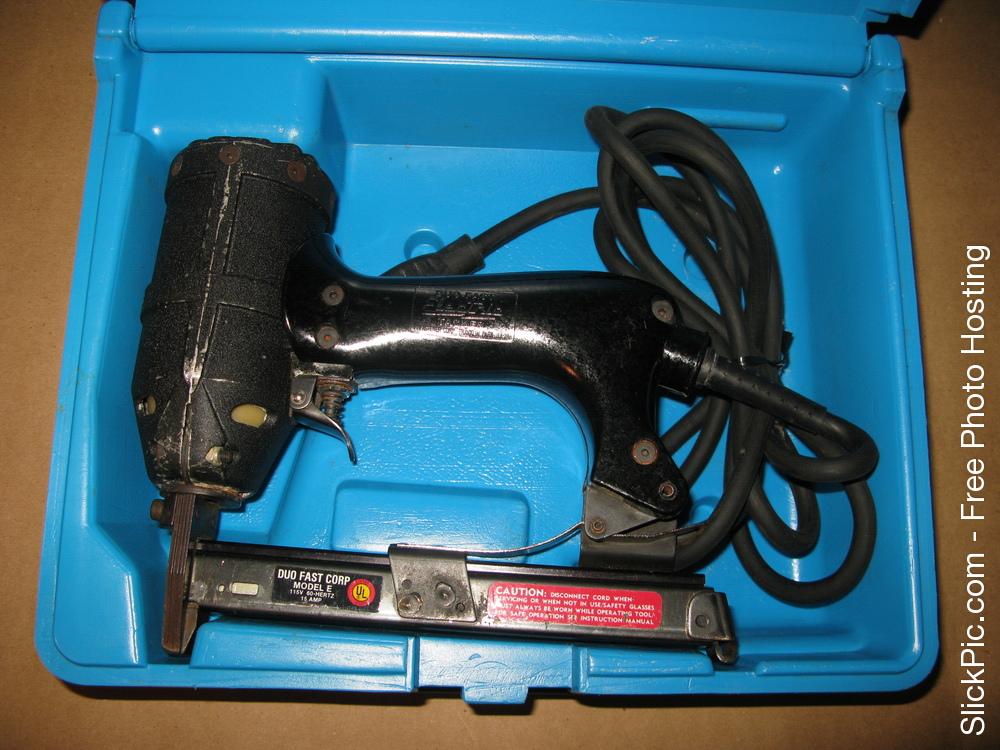 Duo Fast Carpetpro Electric Carpet Stapler 3 8 To 9 16