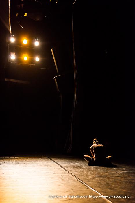 МИНСК, БЕЛАРУСЬ - Skvo's Dance Company в Республиканском Театре Белорусской Драматургии. 19 июня 2013
