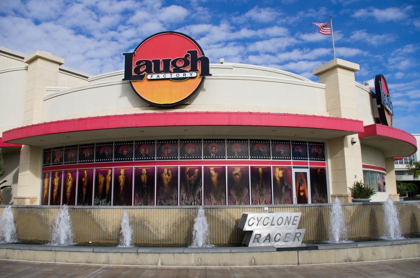 Head on over to Long Beach's The Laugh Factory. Music lovers will appreciate The Laugh Factory's freshly mixed tunes spun by live DJs. Weekends are when crowds really head to The Laugh Factory, so plan accordingly. Parking can be a pain in the neck, but it's as available as ever near the rburbeltoddrick.gaon: S Pine Ave, Long Beach, , CA.