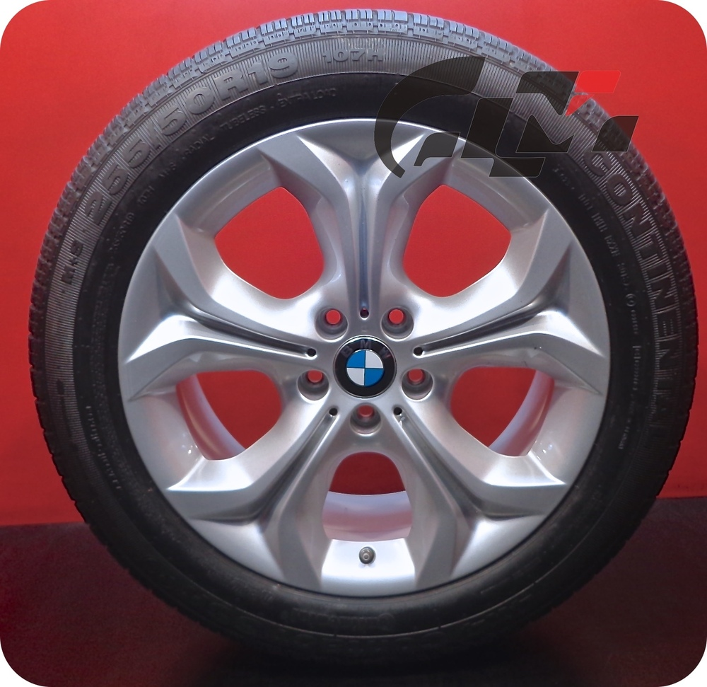 4 Genuine BMW X5 OEM Wheel 2013 2014 2015 & RFT Tire 255