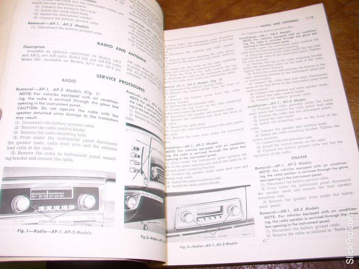 motors auto repair manual 1965