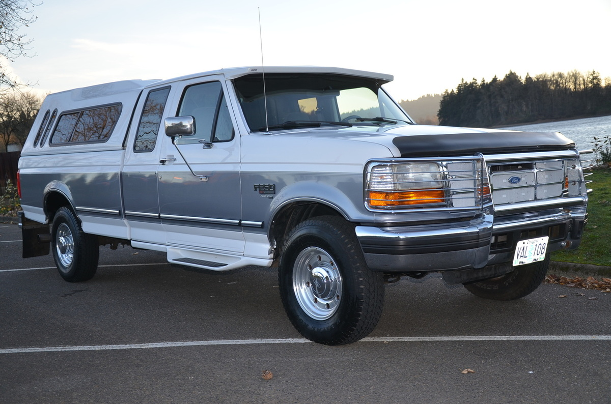 find used 1996 ford f250 xlt extra cab only 58k miles powerstroke turbo diesel like new in. Black Bedroom Furniture Sets. Home Design Ideas