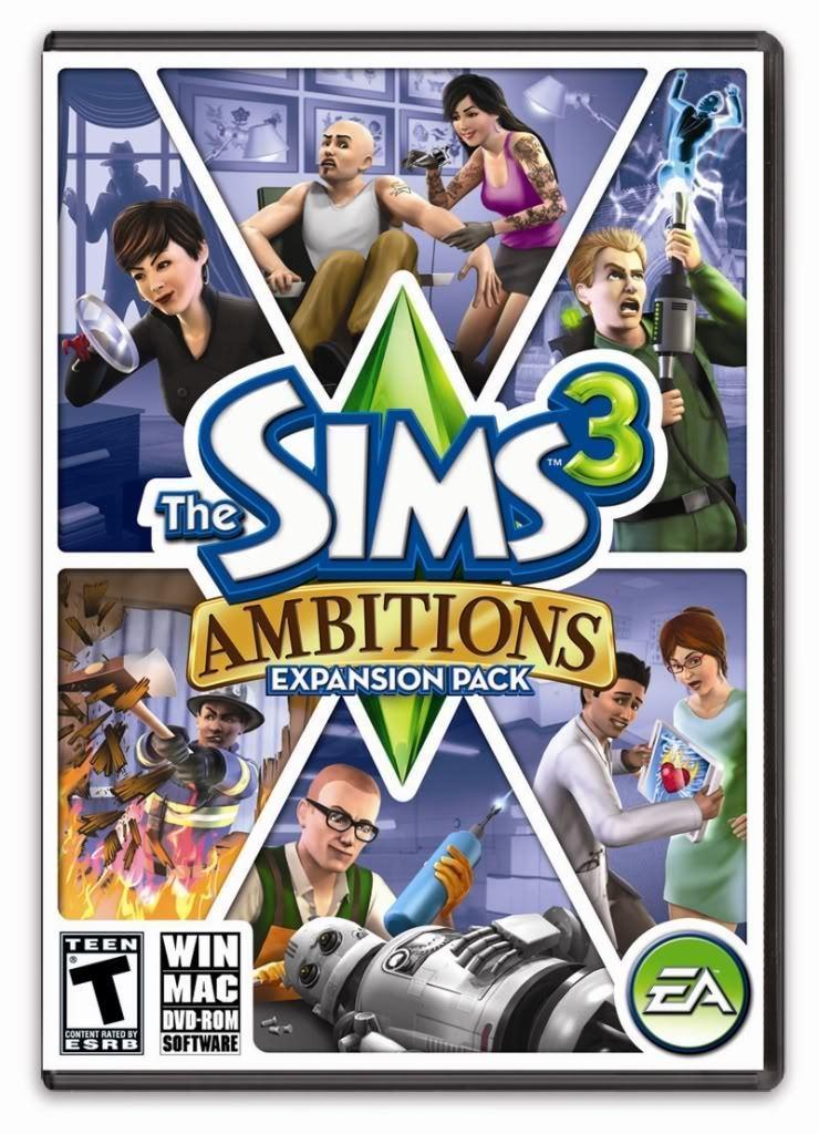 Описание игры Симсы 3: Карьера / The Sims 3: AmbitionsThe Sims 3: Am