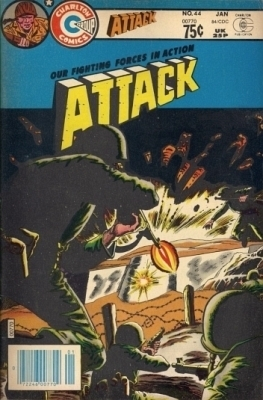 Attack 44 (Canadian, 75¢ Price)