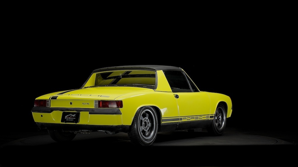 Find Used 1972 Porsche 914 Targa Appearance Package