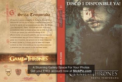651 Juego de Tronos 6ta disco 1