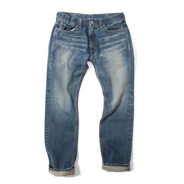 399-COMME des GARCONS HOMME Stone Washed Jean