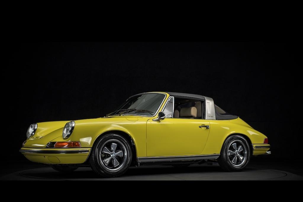 purchase used 1969 porsche 911 t soft window targa classic. Black Bedroom Furniture Sets. Home Design Ideas