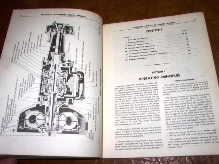 1946 1954 Powerflite 1