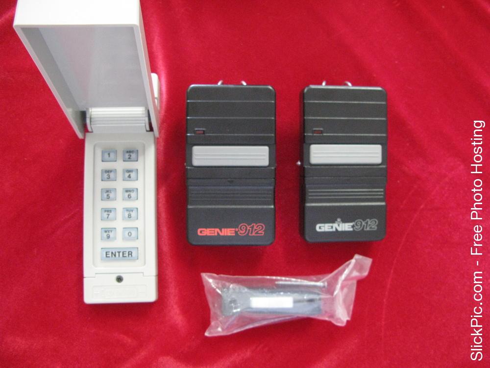 2 Genie Model Gt 912 Remote Garage Door Opener S 9 12