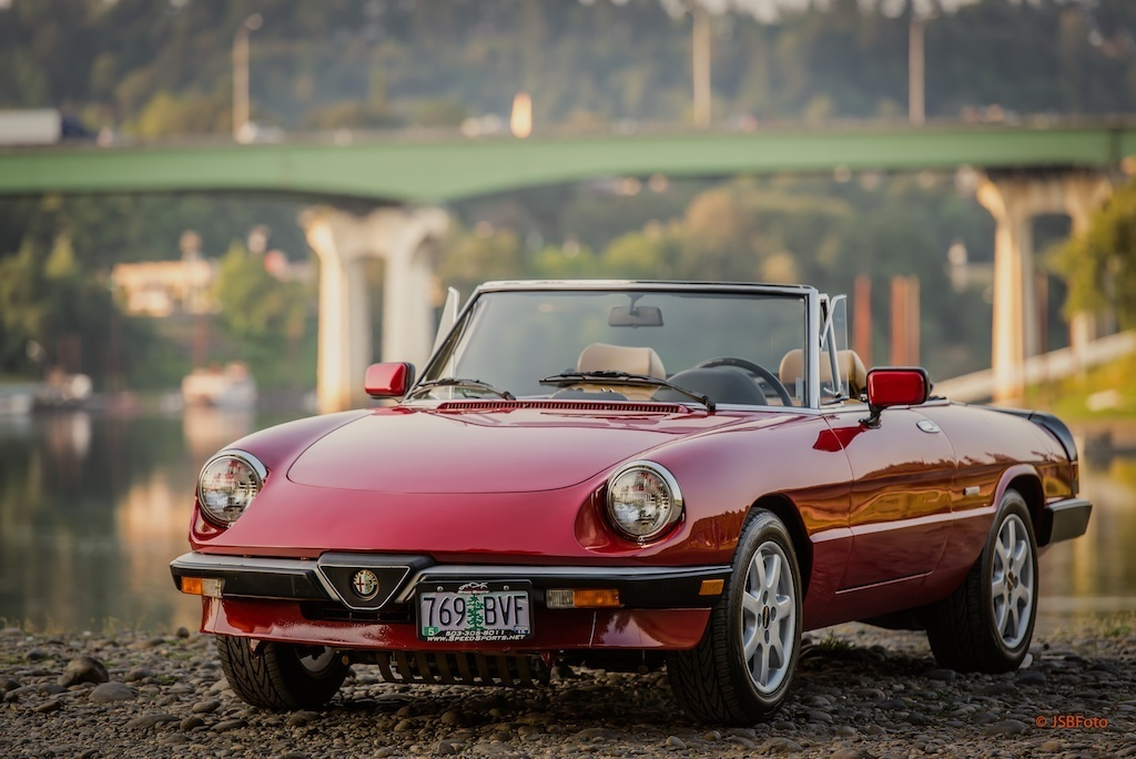 Purchase Used 1990 Alfa Romeo Spider Graduate Convertible