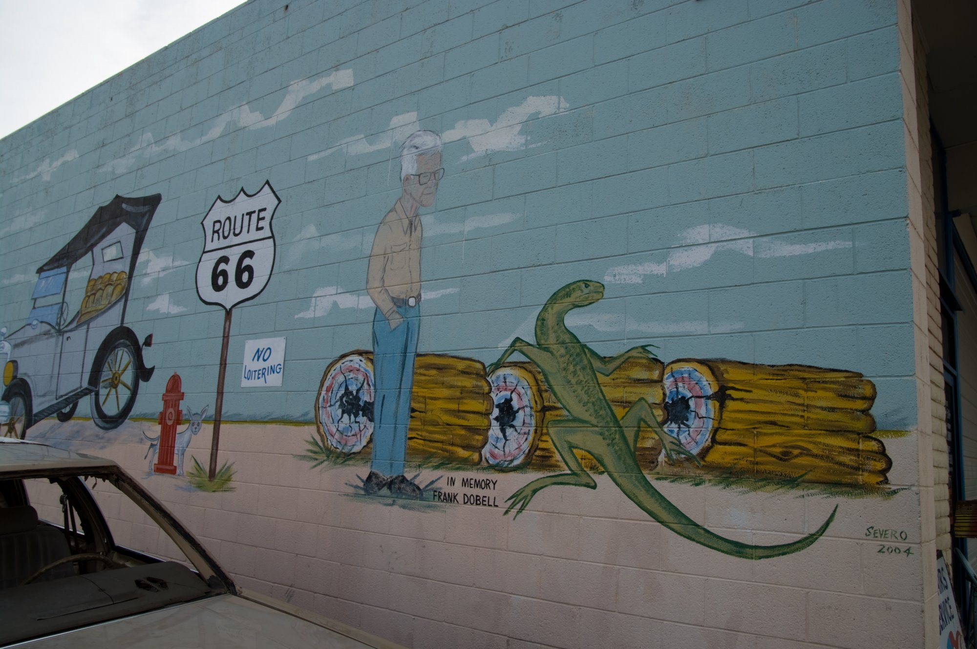 Get your kicks on route 66 page 2 for Blood in blood out mural location