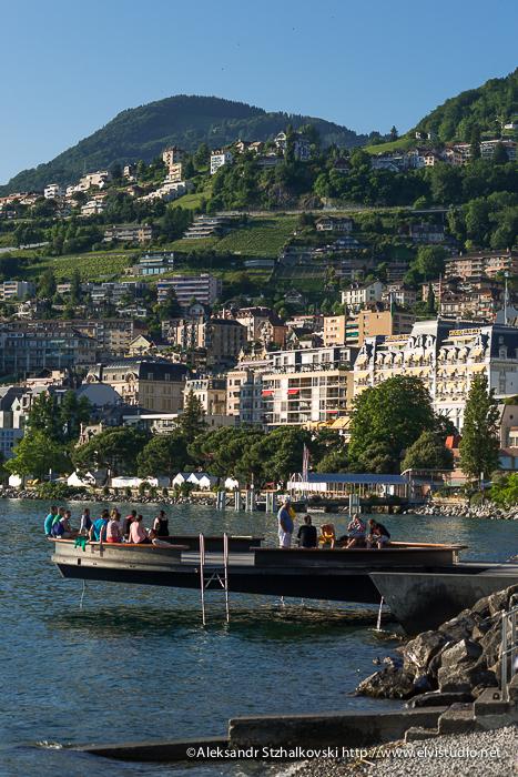 MONTREUX, SWITZERLAND - 30 June 2013: Three hours in Montreux by Aleksandr elvistudio Stzhalkovski