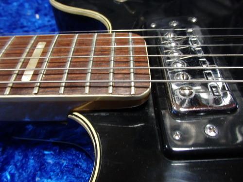 vintage greco black semi acoustic hollowbody electric guitar made in japan 10 17 ebay. Black Bedroom Furniture Sets. Home Design Ideas