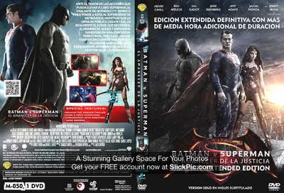 050 Batman v Superman Ultimate Extended Edition Custom