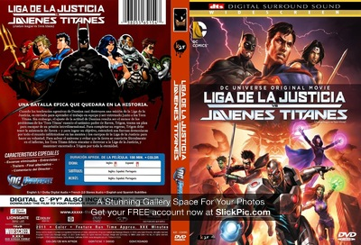 LIGA DE LA JUSTICIA VS JOVENES TITANES