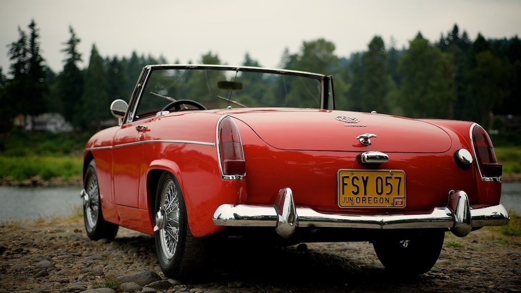 Interesting. Mg midget hardtop for sale