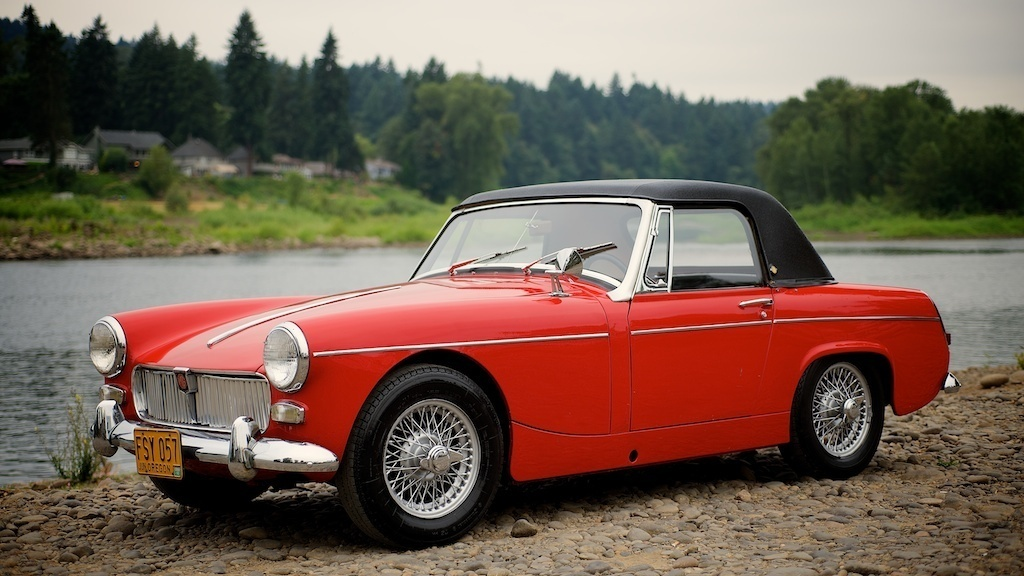 Mg Midget Hard Top 25