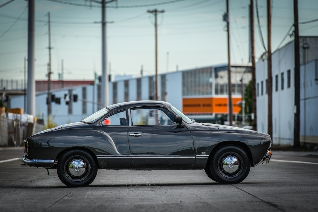 find used 1969 volkswagen vw karmann ghia coupe classic strong running and vintage in portland. Black Bedroom Furniture Sets. Home Design Ideas