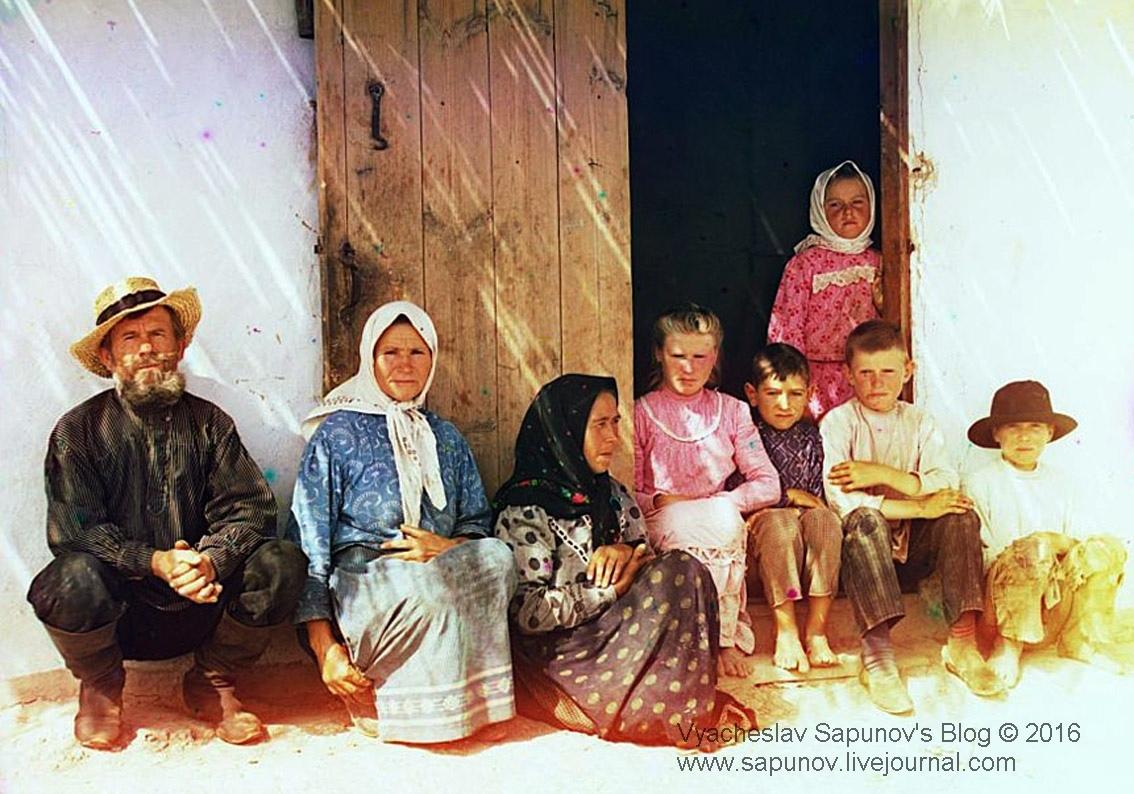 Семья поселенца. Пос. ГрафовкаEDITED