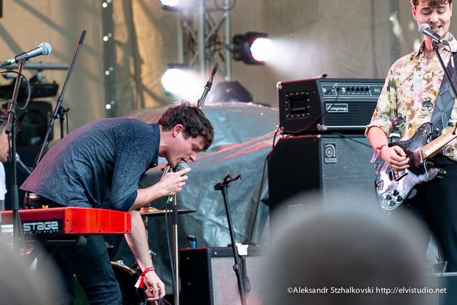 МОСКВА, РОССИЯ - Ahmad Tea Music Festival. Москва, 26 мая 2013