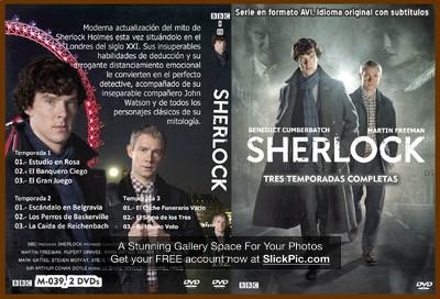 039 SHERLOCK temporadas 1 2 y 3