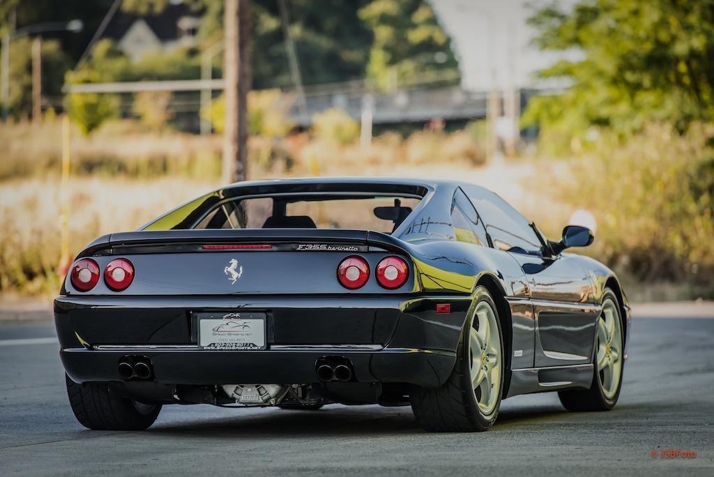 Buy Used 1995 Ferrari F355b Berlinetta Coupe Black Six