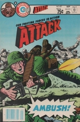 Attack 42 (Canadian, 75¢ Price)