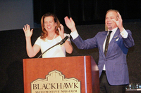 Gina Gallo and Jean Charles Boisset
