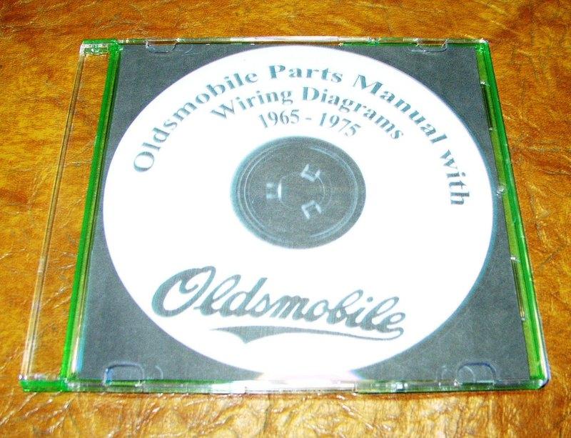 1969 Oldsmobile Service Manual Hurst 442 W
