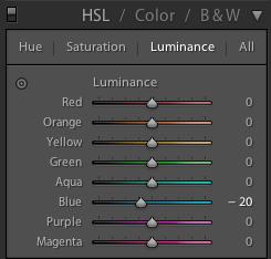 Обработка фото в Лайтрум (Lightroom) - Урок для начинающих - Luminance