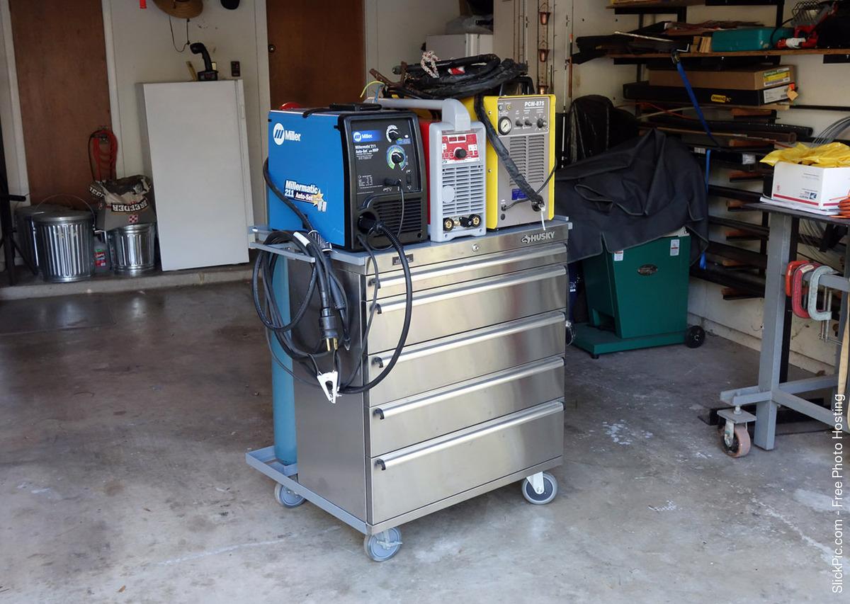 Welding Cart Amp Cabinet