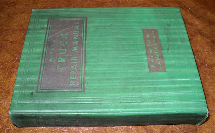 1936-42 Buick Car Care Booklet;  New