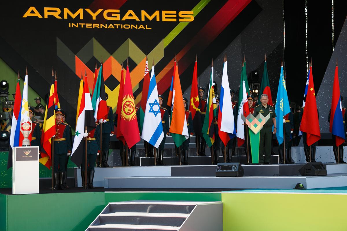 Церемония открытия ARMY2018