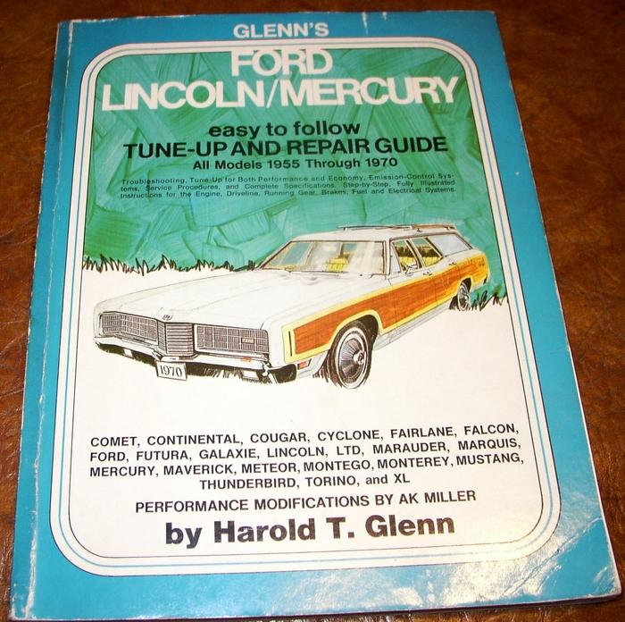 Ford Lincoln Mercury 1960 1961 1962 1963 1964 1965 Galaxie Monterey
