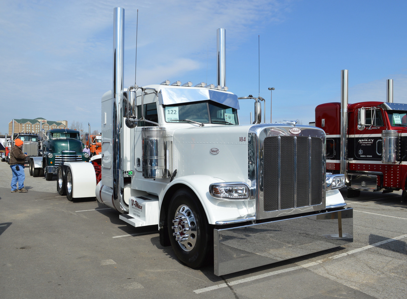 Flooring Zeeland Mi >> Thursday March 23, MATS Show and Shine: V-Max Custom Peterbilt