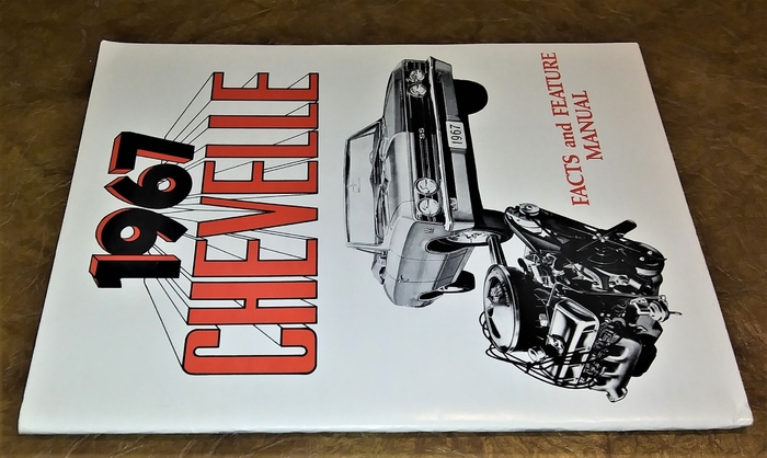1967 Chevy Assembly Chevelle 300 Deluxe Malibu Ss El Camino  U0026 Facts Book Wiring