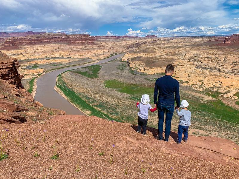 Парки Невады, Юты и Аризоны. 6 дней, 2 взрослых, 2 трёхлеток