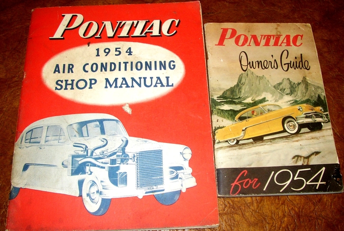 1954 Pontiac Owners Operators Manual 54 Handbook Guide